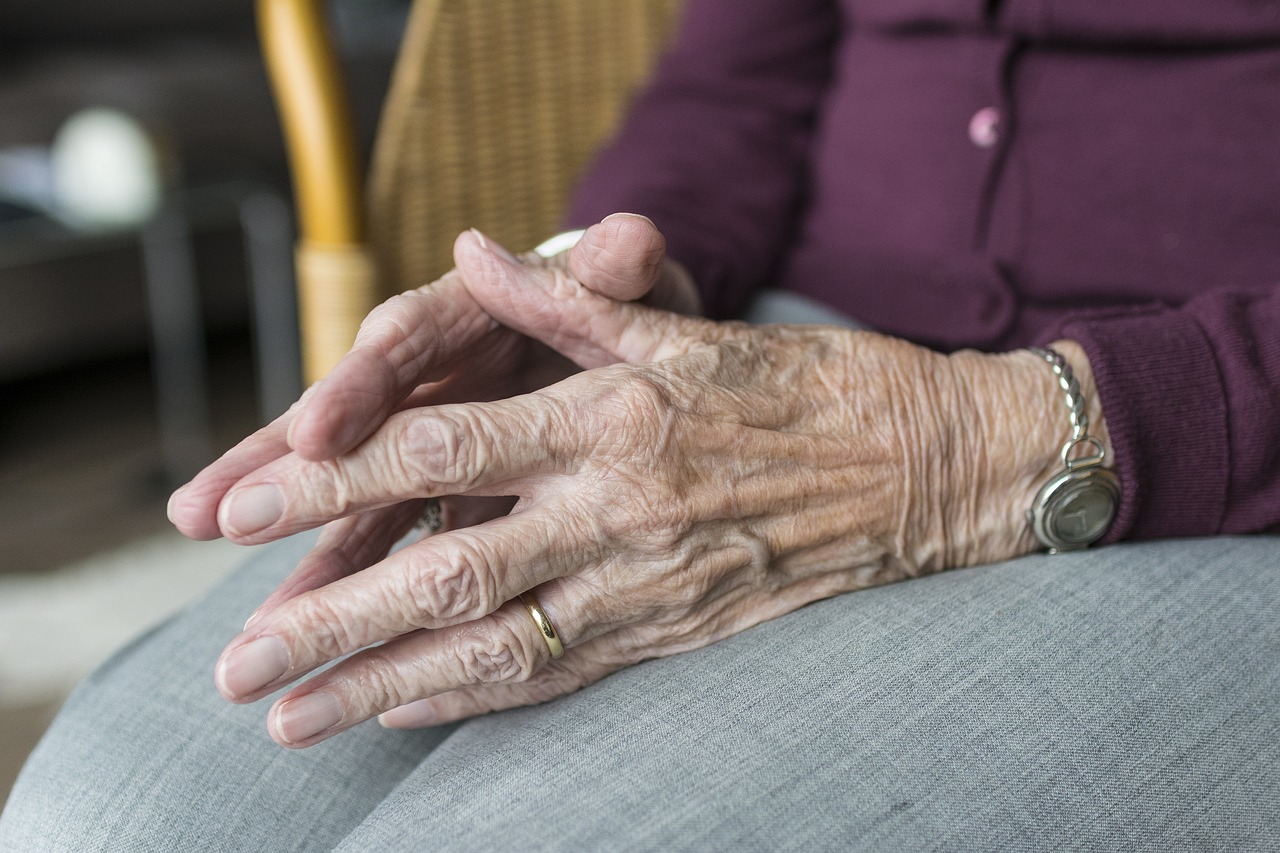 Older Woman Hands