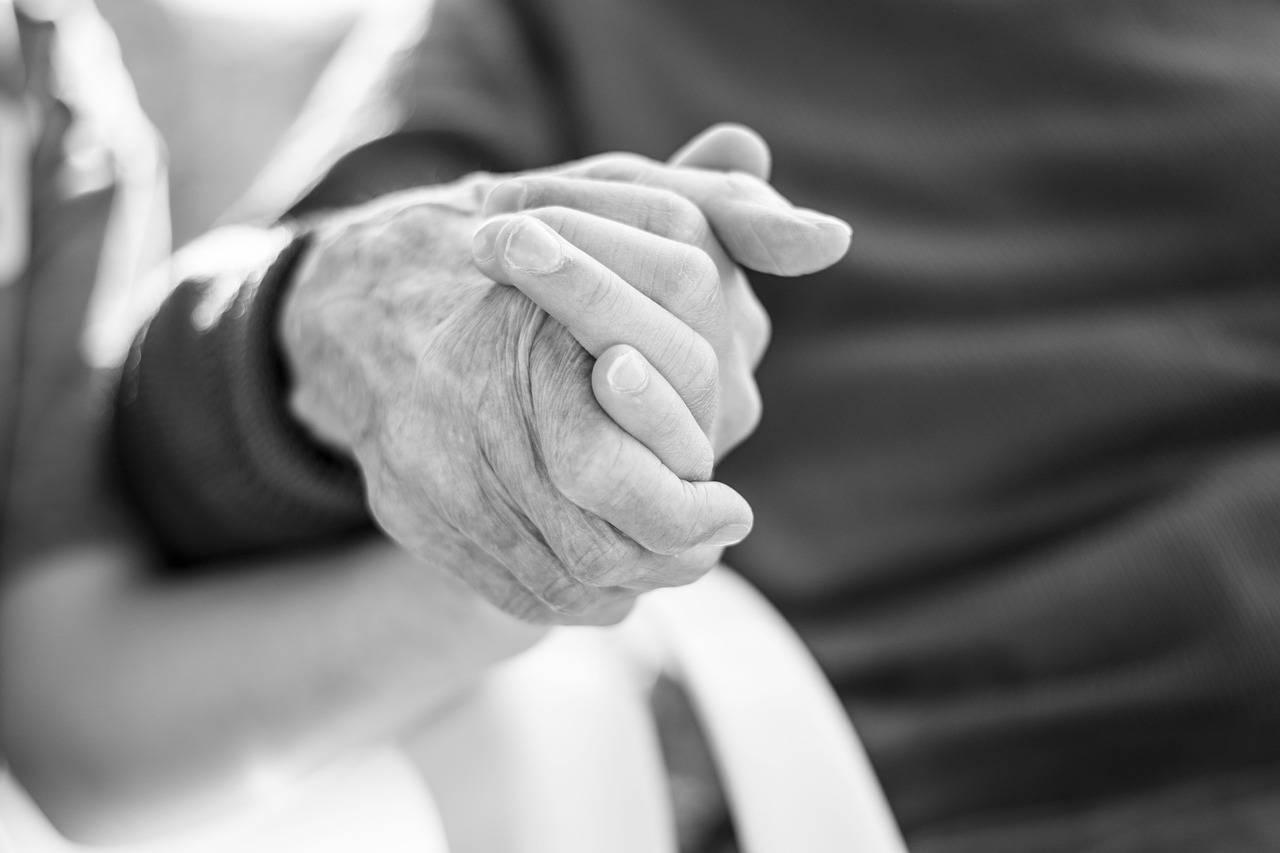 Holding Hands Older