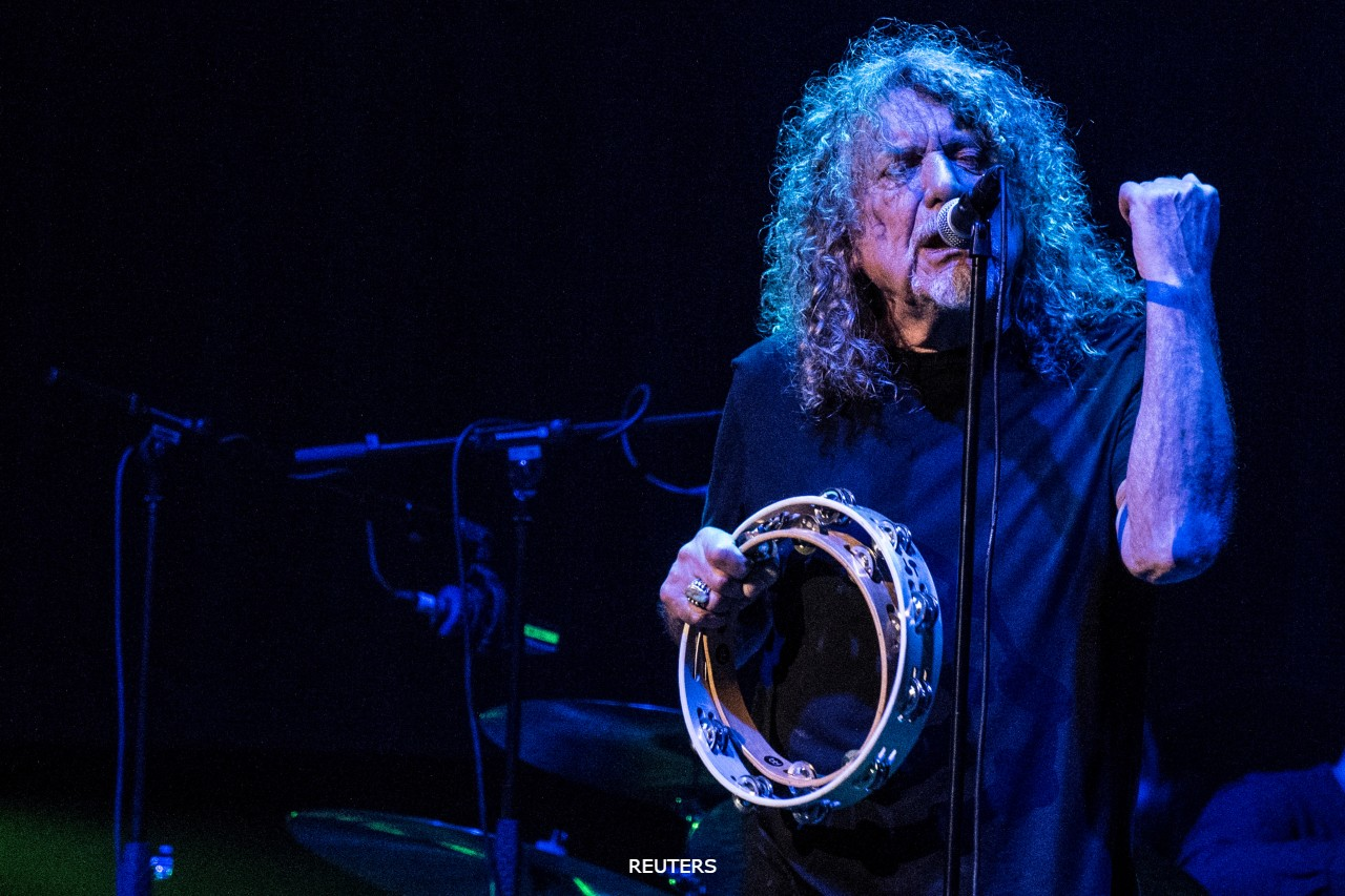 Robert PLant Led Zeppelin RU