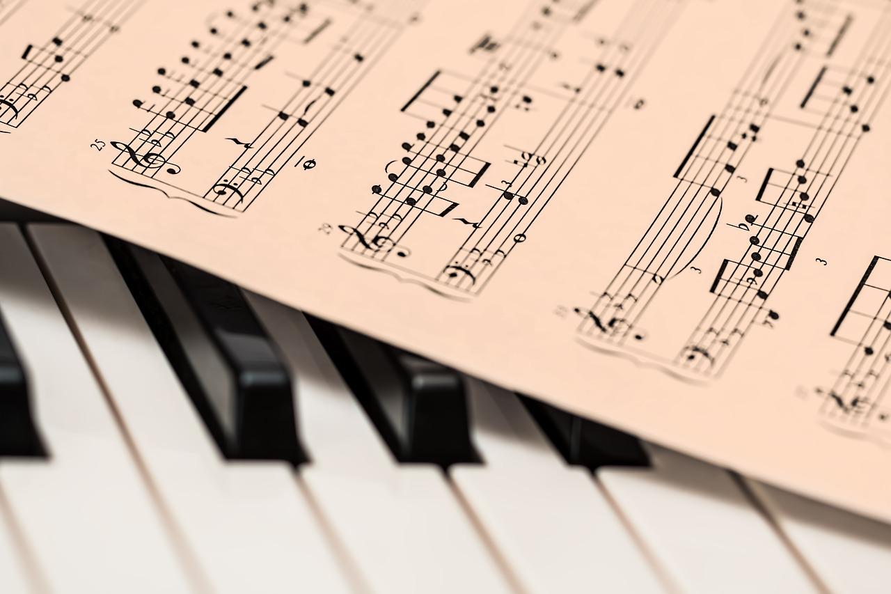 Music Piano Sheet Notes