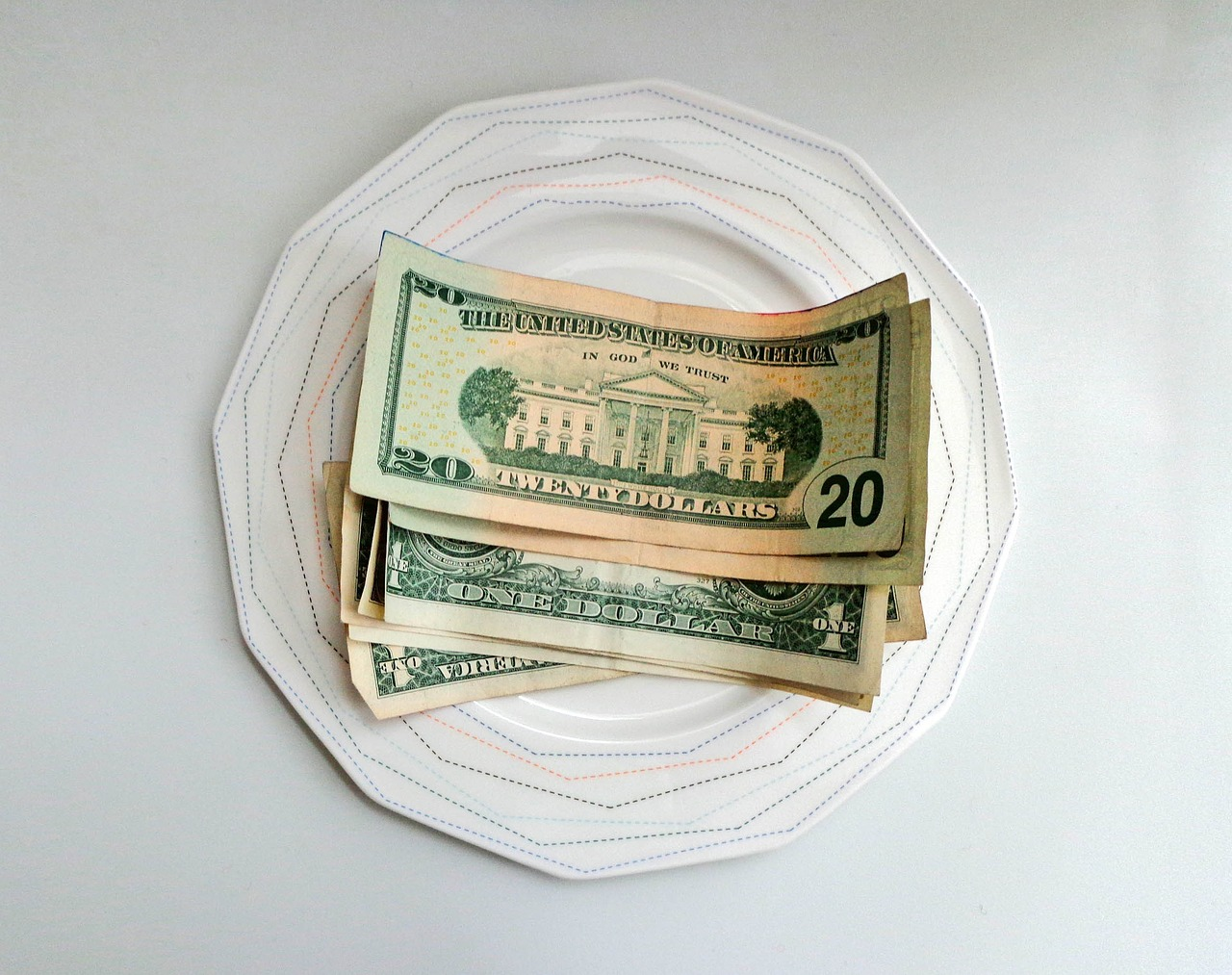 money plate tip