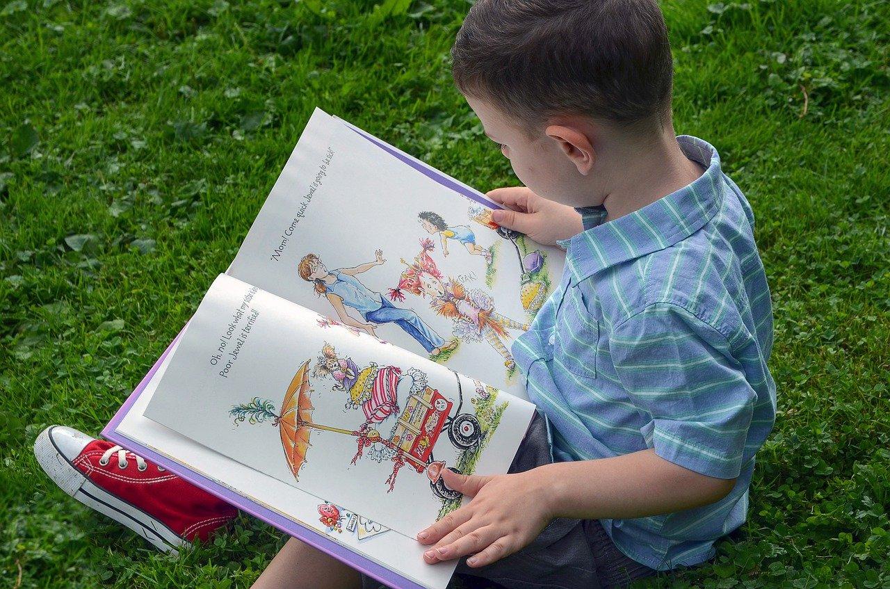 book kid children