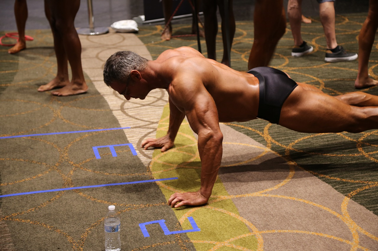 push up exercise fitness